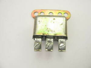 New Out Of Box 1116781 Horn Relay 1953 62 Buick Cadillac Olds Pontiac