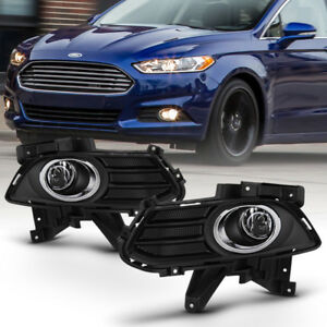 13 16 Ford Fusion Bumper Fog Light Driving Lamp Factory Style W switch