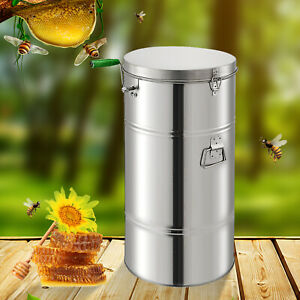 Pro Two 2 Frame Stainless Bee Honey Extractor Beekeeping Honeycomb Drum Keeper