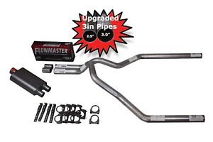 Ford F150 Truck 04 14 3 Dual Exhaust Kit Flowmaster 40 Series Muffler