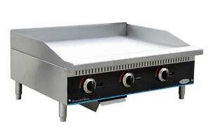 Servware Smg 48 48 Manual Gas Griddle Brand New In Box