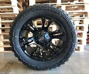 New 20 Fuel Vapor D560 Wheel And Tire Package 33x12 50r20 Ford F150 F 150