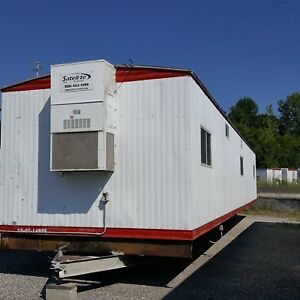 Used 2007 1260 Mobile Office Trailer With 1 2 Bath Serial 0714925 Kc