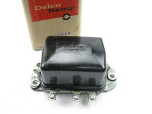 Nos Delco Remy D618 Voltage Regulator Oem Gm 1119003