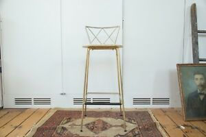Vintage Hollywood Regency Stool
