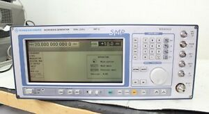 Rohde Schwarz Smp02 10 Mhz 20 Ghz Signal Generator Calibrated Opt B11 B15