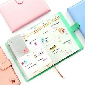 Weekly Planner Notebook School Office Supplies Binder Student Schedule Notepad