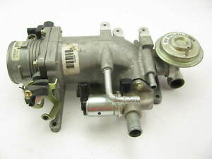 New Out Of Box Oem Ford F7au aa Throttle Body Elbow Idle Valve Egr Valve