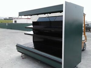 Used Supermarket Equipment Cases Refrigeration Good Condition