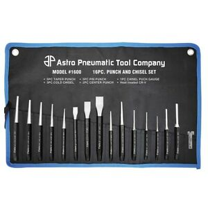 16 Piece Punch And Chisel Set Ast1600 Brand New