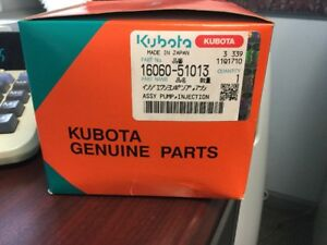 Kubota Assy Pump Injection Part 16060 51013