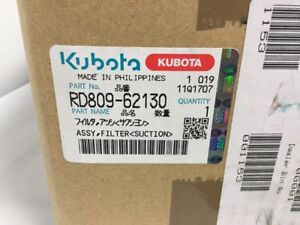 Kubota Assy Suction Filter Part rd809 62130