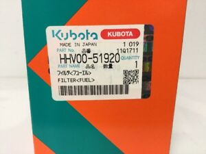 Kubota Fuel Filter Part hhv00 51920