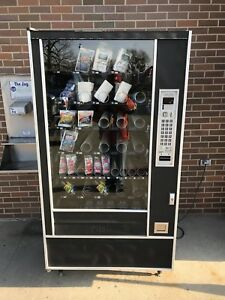 Snack Shop 7600 Food Candy Vending Machine Used Working Condition