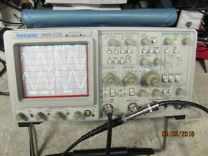 Tektronix 2465cts 300mhz 4 Channel Oscilloscope Works Great
