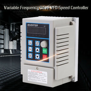 220v 0 75kw Single Phase 3ph Variable Frequency Drive Vfd Speed Controller Oe