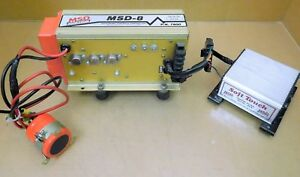 Msd 8 7800 Racing Ignition Box Cd Universal W msd 8978 Soft Touch Box