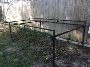 Used Full Size Ladder Rack For Utility Pickup Truck Pickup Only