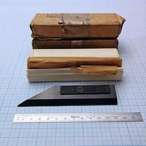 Precision Straight Edge 125mm 5 With Bevel Edge Ussr Top Grade Haarlineal