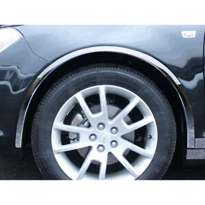 2008 2012 Malibu 4pc Luxury Fx Chrome Fender Trim