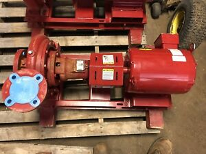 New Bell And Gossett Centrifugal 1510 Bf 8 25 Bb Pump 240gpm 60 Ft 7 5hp 200v