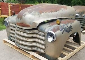 1947 1953 Chevrolet Chevy Truck Front Clip Fenders Hood Grill