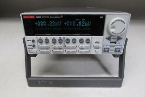 Keithley 2602a Dual channel System Sourcemeter 3a Dc 10a Pulse