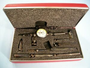 New Starrett No 711gcsz Last Word Universal Dial Test Indicator Machinist