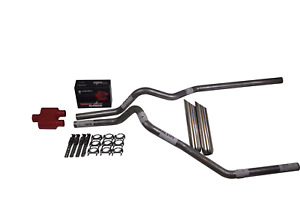 Ford F150 98 03 2 5 Dual Exhaust Cherry Bomb Extreme Weld On Tips