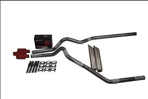 Ford F150 87 97 2 5 Dual Exhaust Cherry Bomb Extreme Weld On Tips