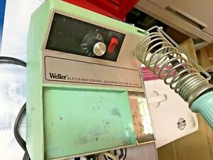 Weller Ec1000 Variable Temperature Soldering Station With Soldering Pencil