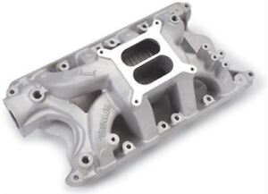 Edelbrock Performer Rpm Air gap Intake Manifold 7581 Free Shipping