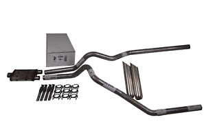 Ford F150 98 03 2 5 Dual Exhaust Magnaflow Muffler Weld On Tips