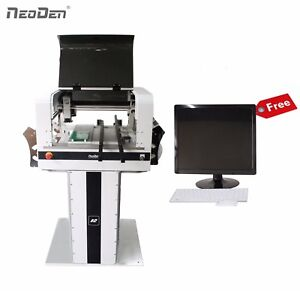 Smt Pick And Place Machine Vision System 40 Electric Feeders 0201 Bga