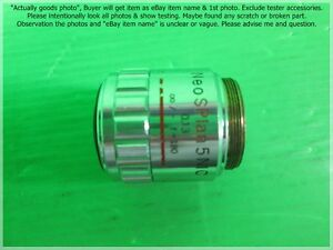 Olympus Neo Splan 5 Nic 5x 0 13 F 180 Lens As Photo 5692 For Part Not Working