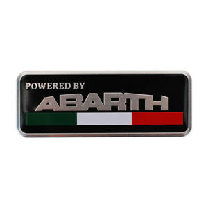 Car Sticker Emblem Side Badge Decal Styling Accessories Logo For Fiat Abarth