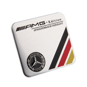 Car Accessories Sticker Emblem Badge Decal Styling Amg Logo For Mercedes Benz