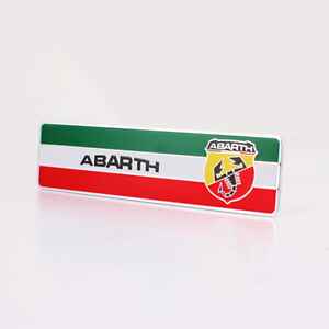 Car Body Sticker Emblem Side Badge Decal Styling Accessories Logo For Abarth 500