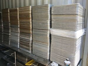 500 Solid Full Size Bakery Baking Food 18x26 Sheet Pans Cookie Biscuit Aluminum