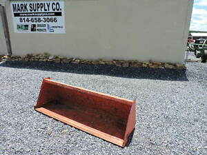 Kubota L2283 72 Pin On Bucket Tractor Loader 4x4 Diesel Backhoe Cutting Edge