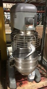 Hobart Legacy Hl600 60 Qt Commercial Planetary Dough Mixer 200 240v 1ph Or 3ph