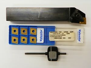 Valenite Dclnl 16 4d Turning Tool Holder With Cnmg 432 W2 Carbide Insert A017