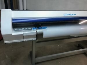 Roland Versacamm Sp 540v 54 Printer Cutter wide Format Printer Cutter