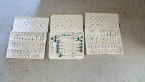 St Jude Medical Bioprosthetic Sizer Set Model B807 And 2 905 Sets With Case