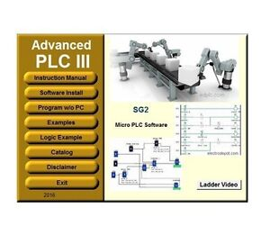 Plc 3 Programming Software Ladder Logic Iec Industrial Standard Simulation Cd