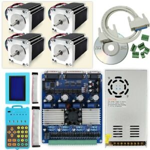 Cnc Router Mill Revolutionary Professional 4 Axis Tb6560 Stepper Driver Kit
