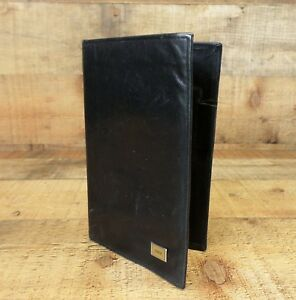 Day Timer Planner Pocket Leather Organizer Wallet Full Grain Distressed Black