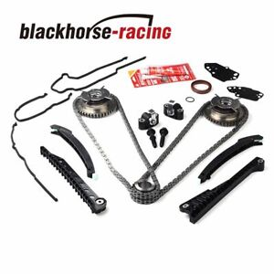 Timing Chain Kit Cam Phaser Cover Gasket For Ford F150 Lincoln 5 4 Triton 3v V8