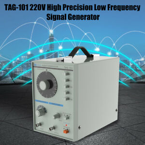 High Precision Tag 101 220v Low Frequency Signal Generator 10hz 1mhz White Inm