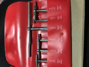 Starrett S579hz 5 16 6 6 Pc Telescoping Gage Set